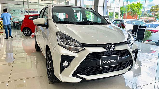 Giá lăn bánh các phiên bản xe cỡ nhỏ Toyota Wigo vừa ra mắt - 1