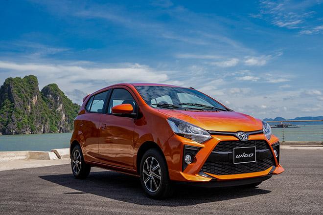 Giá lăn bánh các phiên bản xe cỡ nhỏ Toyota Wigo vừa ra mắt - 7