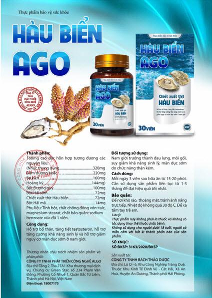 Hàu biển Ago - giải pháp hỗ trợ tăng cường sinh lý, giảm nguy cơ mãn dục sớm ở nam giới - 5