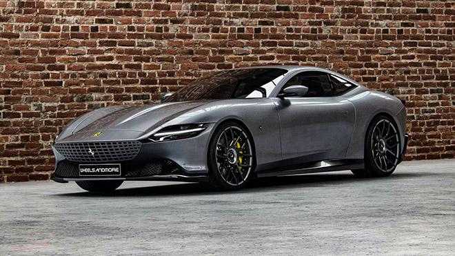 Siêu xe Ferrari Roma sắm vai