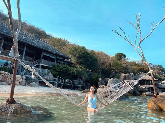 Hot girl Trâm Anh liên tục diện bikini khoe dáng nhờ kiểm soát được cân nặng - 7