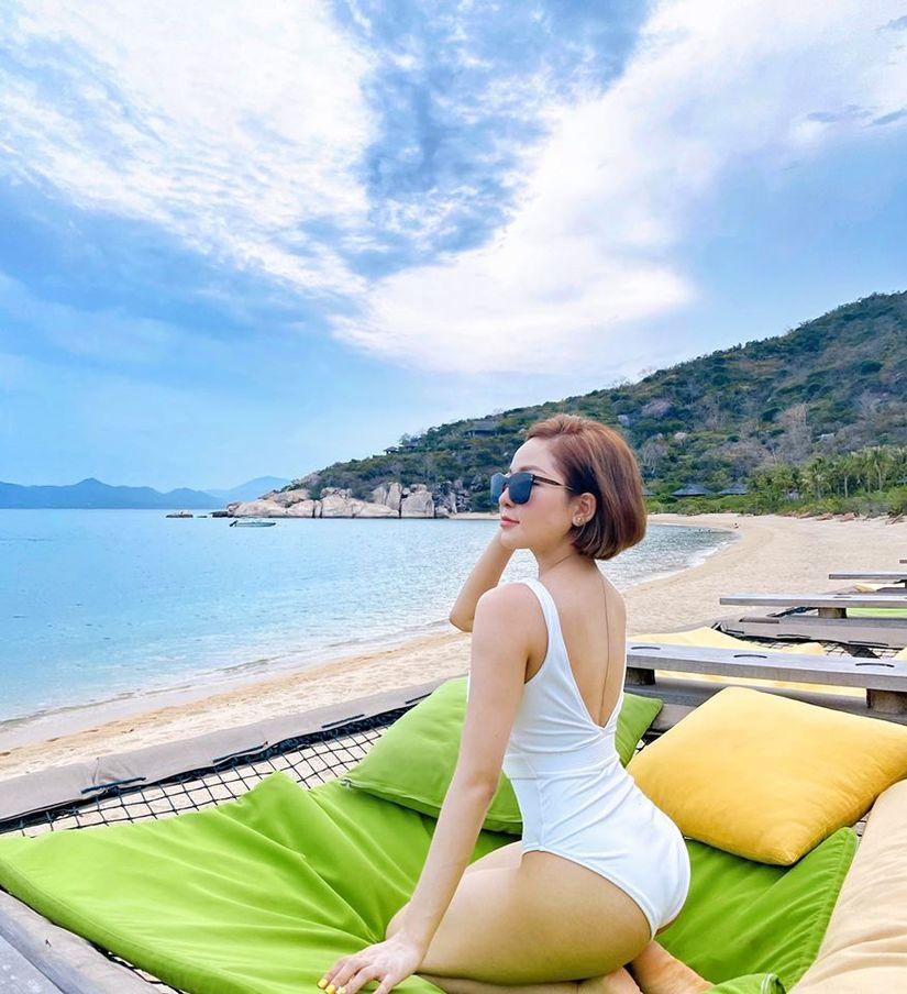 Hot girl Trâm Anh liên tục diện bikini khoe dáng nhờ kiểm soát được cân nặng - 3