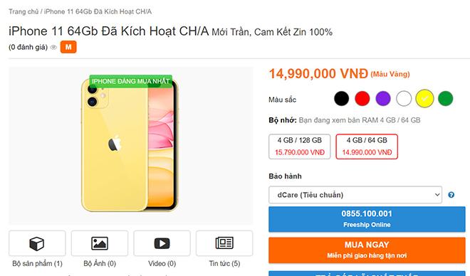 Cẩn thận iPhone 11 Trung Quốc đổ bộ thị trường Việt giá từ 14,99 triệu đồng - 2