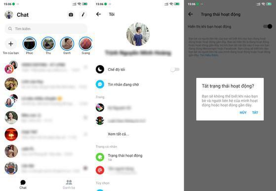 Cách 'vô hình' khi sử dụng Facebook và Messenger - 1