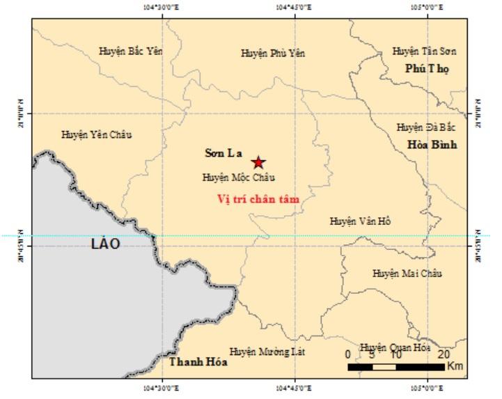 Hình ảnh tan hoang tại Mộc Châu sau khi hứng liên tiếp 3 trận động trong một ngày - 1