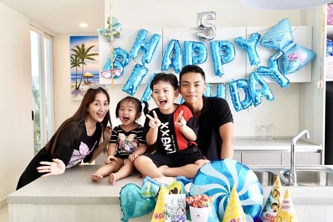 Làm sinh nhật hoành tráng cho con nhưng Khánh Thi khiến dân tình đổ dồn con mắt vì body gợi cảm - 2