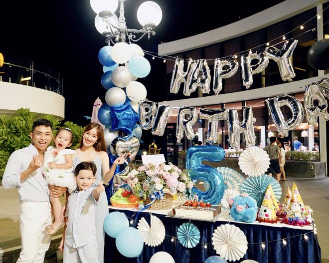 Làm sinh nhật hoành tráng cho con nhưng Khánh Thi khiến dân tình đổ dồn con mắt vì body gợi cảm - 8