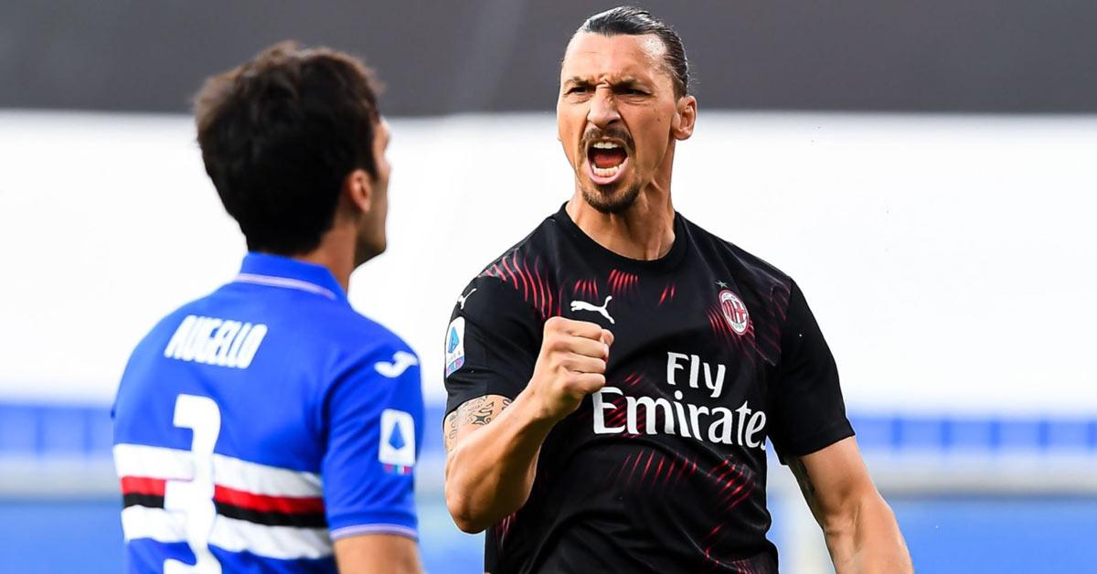 Video highlight Sampdoria - AC Milan: Ibra ghi cú đúp, đại tiệc 5 bàn