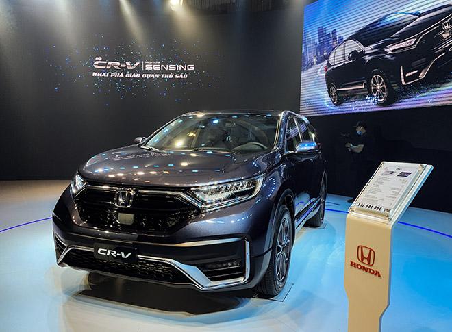 Honda CR-V bản nâng cấp chính thức ra mắt thị trường Việt, giá từ 998 triệu đồng - 2