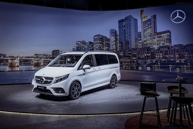 Mercedes-Benz T-Class dòng xe MPV mới của hãng xe hạng sang