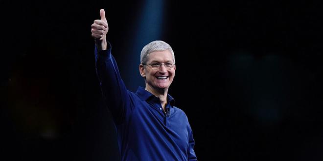 Giá cổ phiếu Apple phá kỷ lục mới sau báo cáo tài chính quý 2 - 1