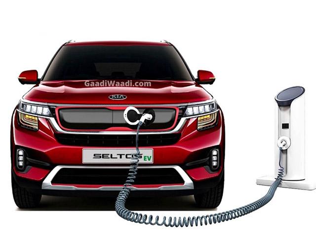 KIA Seltos sẽ có thêm phiên bản sử dụng động cơ điện vào năm sau - 1