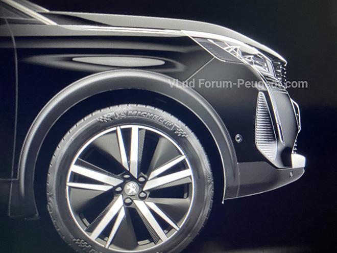 Peugeot 3008 lộ ảnh thiết kế, đối thủ cạnh tranh Mazda CX-5 và Huyndai Tucson - 3