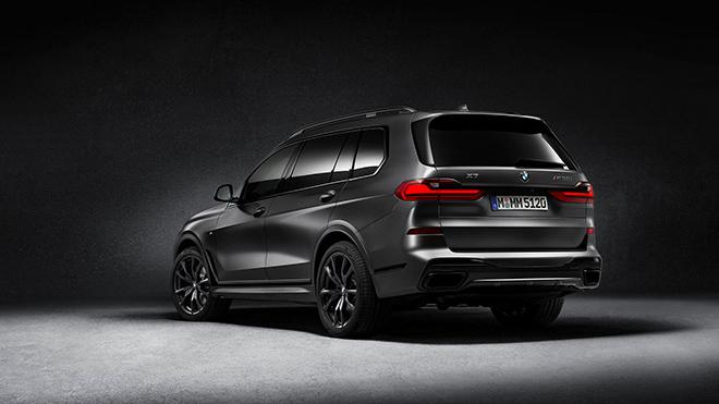 Xe SUV cỡ lớn BMW X7 ngầu hơn với gói trang bị Dark Shadow Edition - 4