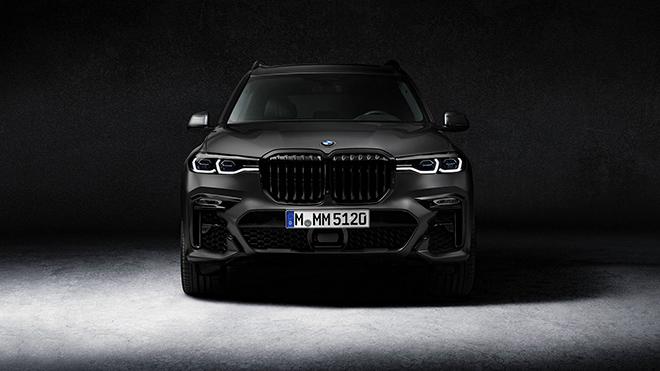 Xe SUV cỡ lớn BMW X7 ngầu hơn với gói trang bị Dark Shadow Edition - 3