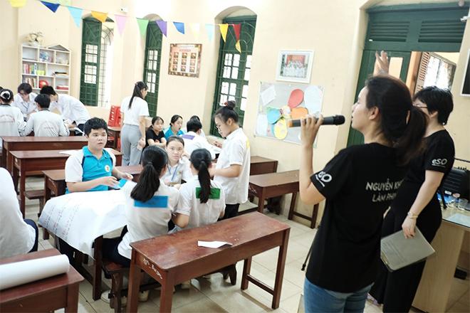 Ấn tượng với dự án làm phim đầu tay của học sinh THPT Nguyễn Khuyến Nam Định - 1