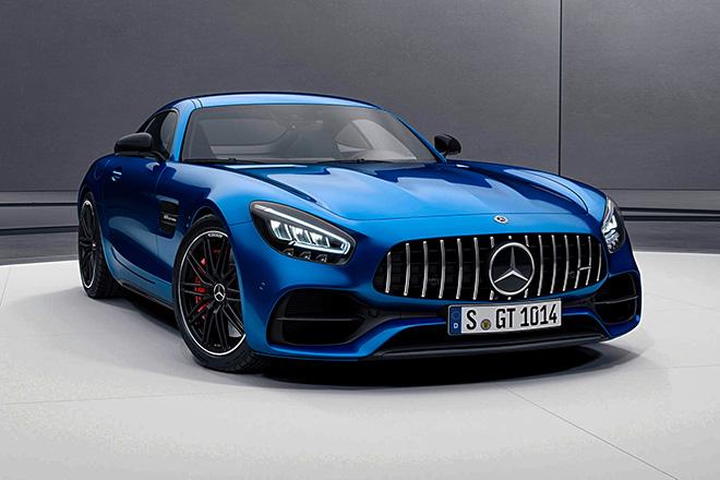 Siêu xe Mercedes-Benz AMG GT chính thức ra mắt, đi kèm một số nâng cấp mới - 1