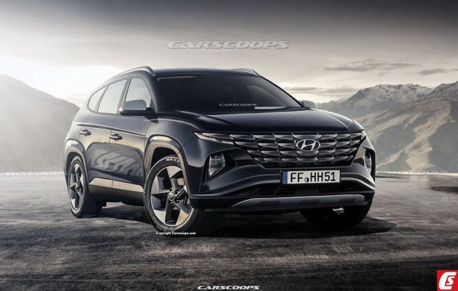 Hyundai Tucson 2021 tiếp tục rò rỉ thiết kế và thông số kỹ thuật trước thềm ra mắt - 8