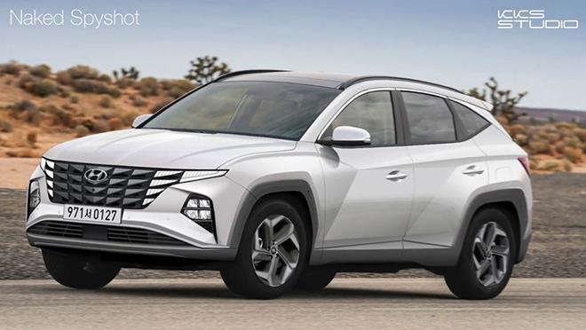 Hyundai Tucson 2021 tiếp tục rò rỉ thiết kế và thông số kỹ thuật trước thềm ra mắt - 1
