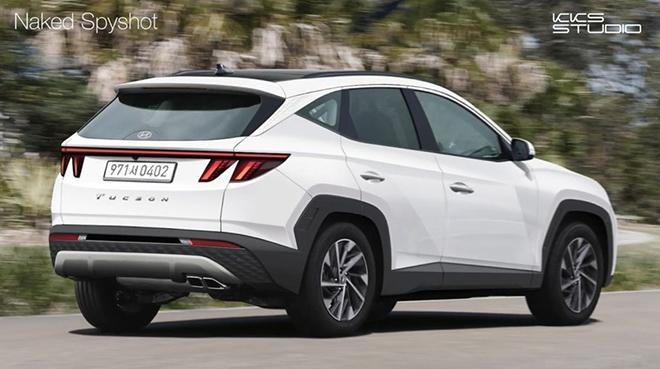 Hyundai Tucson 2021 tiếp tục rò rỉ thiết kế và thông số kỹ thuật trước thềm ra mắt - 2