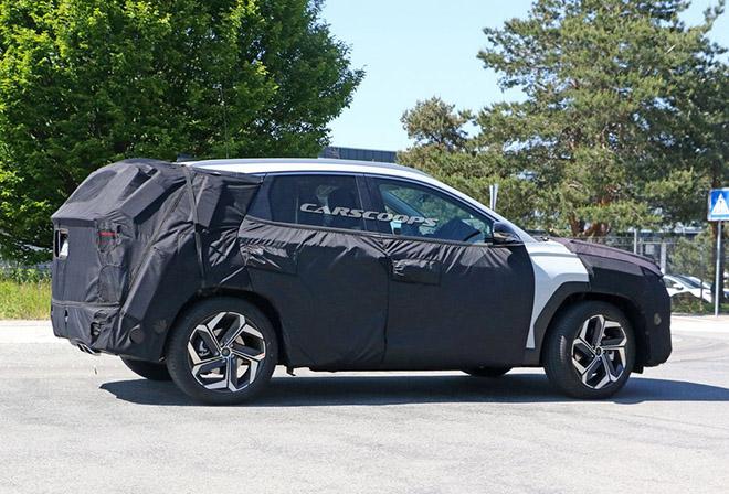 Hyundai Tucson 2021 tiếp tục rò rỉ thiết kế và thông số kỹ thuật trước thềm ra mắt - 5