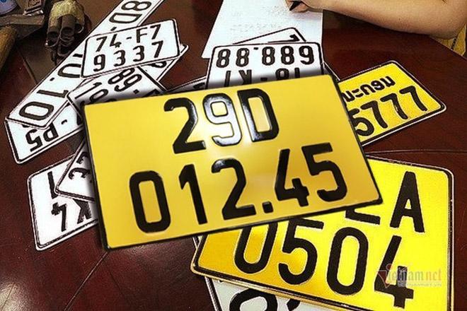 Từ đầu tháng 8 biển số xe các loại thay đổi kích thước ra sao? - 1