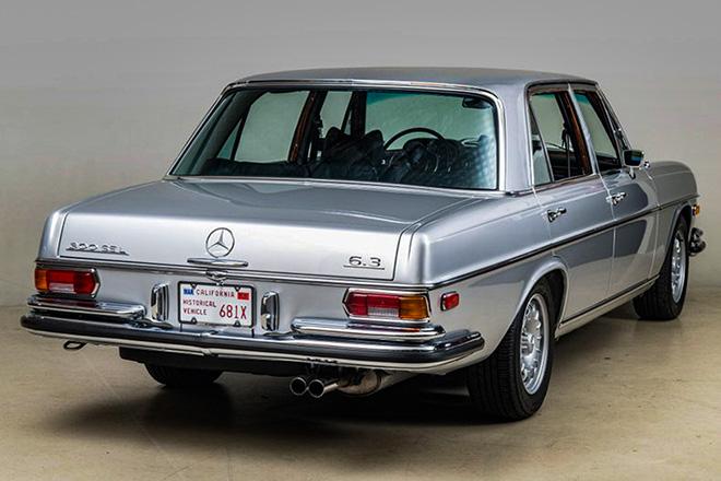 Xế siêu hiếm Mercedes-Benz 300 SEL đời 1969 chào bán cho giới sưu tầm - 5