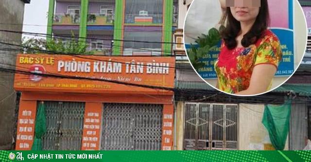 Thông tin mới vụ nữ bác sĩ nghi đầu độc cháu nội ở Thái Bình