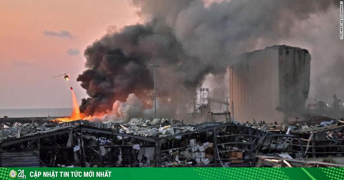 3 giả thiết về vụ nổ kinh hoàng ở Li-băng