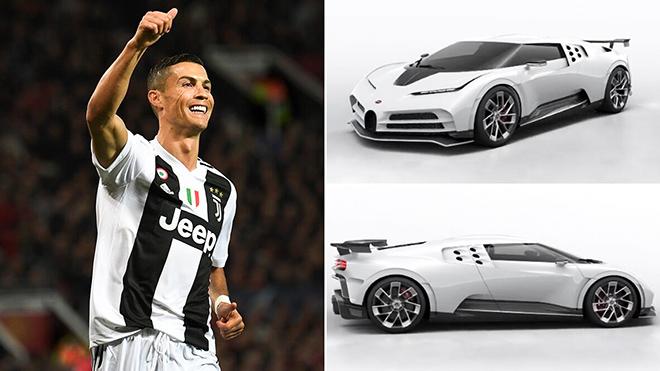 CR7 chi mạnh tay sắm siêu xe 10 triệu đô Bugatti Centodieci - 1