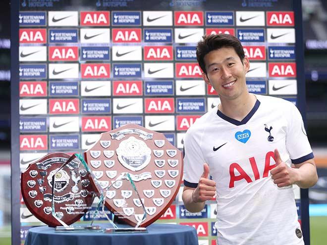 Son Heung Min bội thu giải thưởng, lọt top 9 SAO tấn công của châu Âu - 2