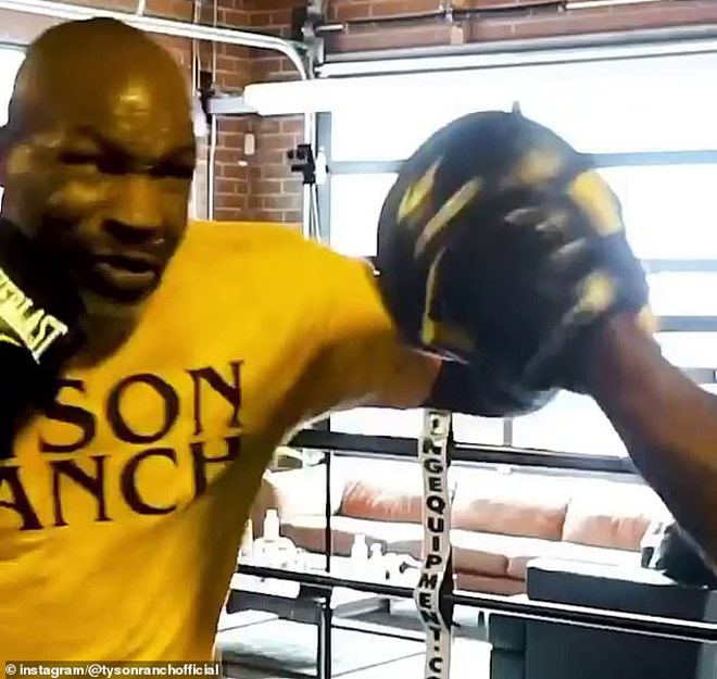Mike Tyson sắp tung cú đấm thép: Đối thủ dọa sẽ có cuộc chiến thực sự - 2