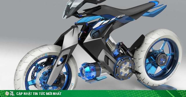 Lộ diện môtô Yamaha XT 500 H20 chạy bằng nước hoàn toàn