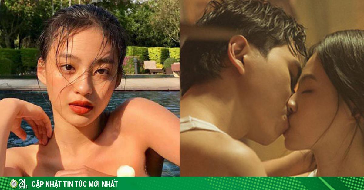 Hot girl Việt được đề cử Top 100 gương mặt đẹp nhất: Màn khóa môi khiến đối phương xấu hổ