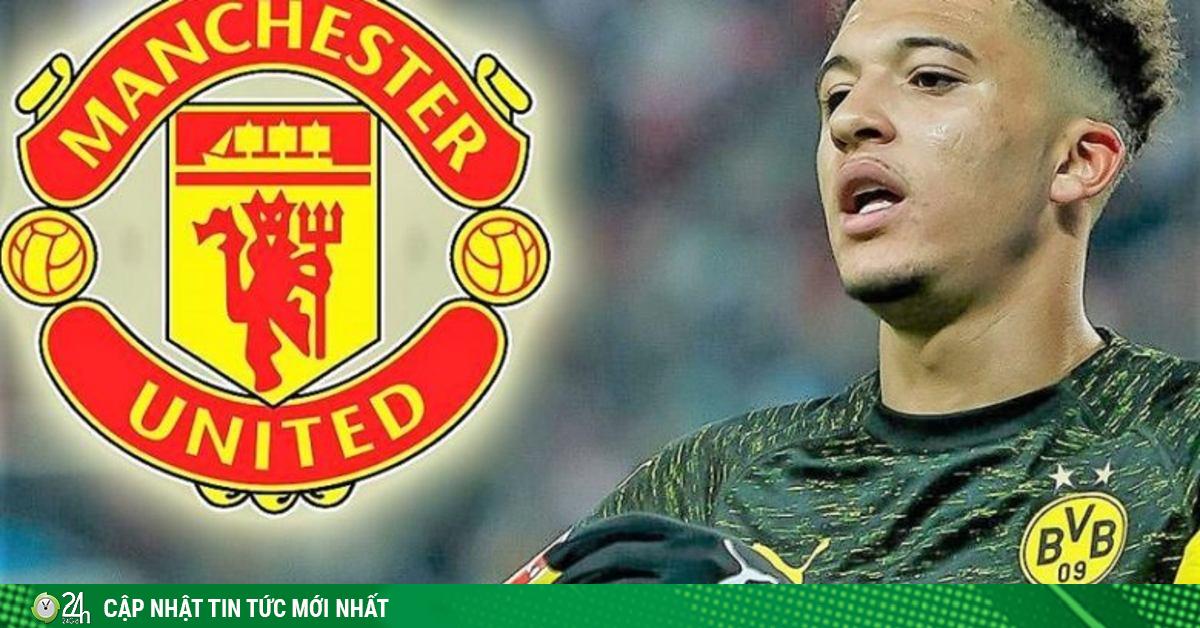 NÓNG: Sancho 100% đồng ý đến MU, Dortmund quyết giữ giá 120 triệu euro