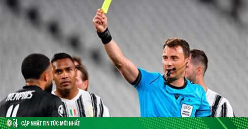 Trọng tài trận Juventus bị loại khỏi Cúp C1 bị phanh phui dàn xếp tỷ số