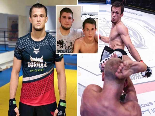 """""""Đại bàng"""" Khabib vang danh UFC, em họ sắp """"phá đảo"""" ONE Championship - 2"""
