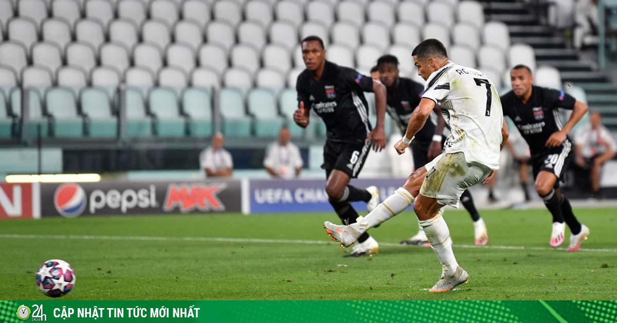 Juventus bị loại Cúp C1: Ronaldo nổi điên, HLV Sarri chữa ngượng