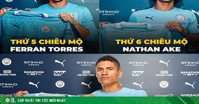 Ảnh chế: Man City chiêu mộ Varane sau khi đá văng Real khỏi cúp C1
