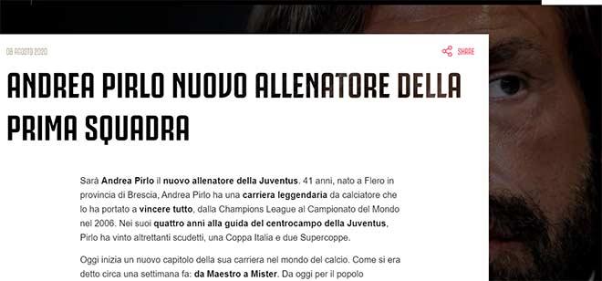CHÍNH THỨC: Địa chấn Pirlo dẫn dắt Juventus, làm thầy Ronaldo - 1