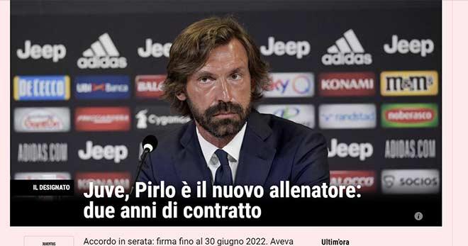 HLV Pirlo vào nghề 9 ngày được Juventus chọn: Báo Ý tiết lộ để chiều Ronaldo? - 1