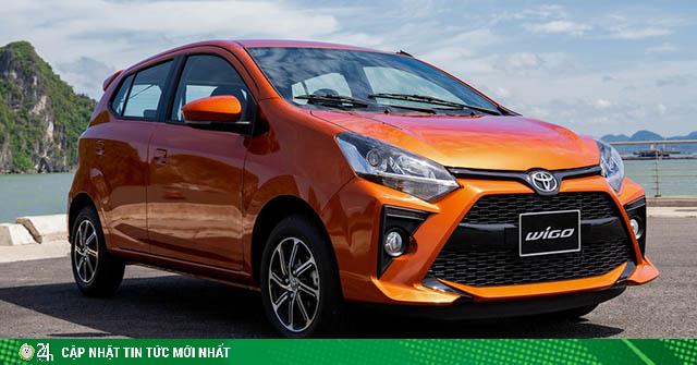 Giá xe Toyota Wigo lăn bánh mới nhất tháng 8/2020