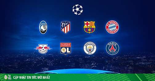 8 anh hào vào tứ kết Cúp C1: Đỉnh cao Barca - Bayern, thời cơ cho Man City & PSG