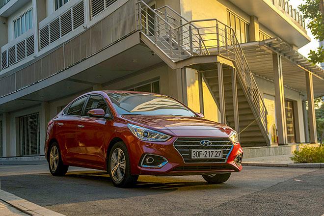 Doanh số bán ra của Hyundai Việt Nam trong tháng 7/2020 - 1