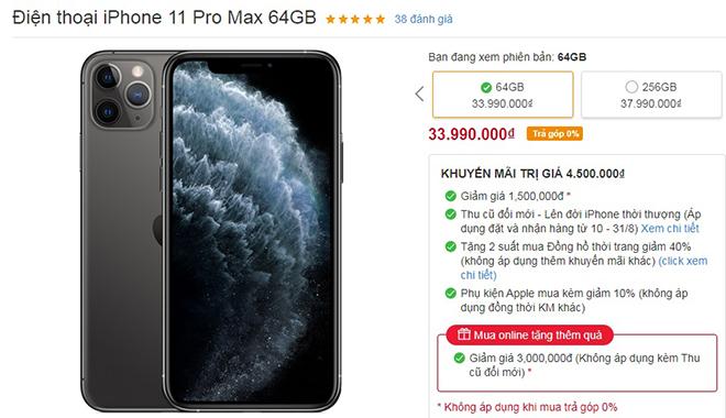 HOT: Nhiều mẫu iPhone đang giảm giá mạnh - 1