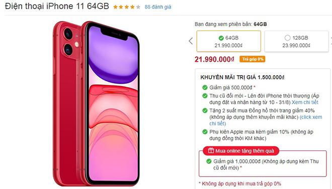 HOT: Nhiều mẫu iPhone đang giảm giá mạnh - 5