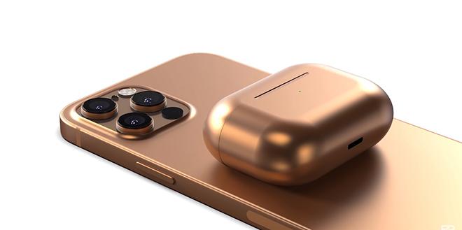 iPhone 12 cũng có concept màu đồng lung linh không kém Galaxy Z Fold 2 - 1