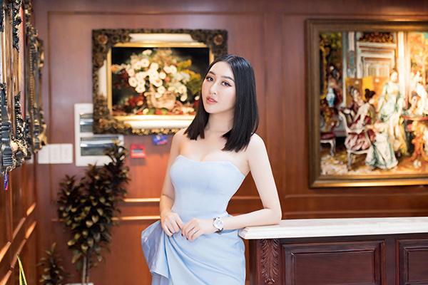 Hoa hậu Huỳnh Thúy Anh lấn sân sang lĩnh vực kinh doanh tranh thảm Ba Tư - 5