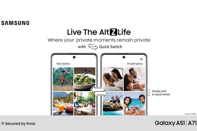 Điện thoại Galaxy A đã có thêm tính năng bảo mật mới - 2