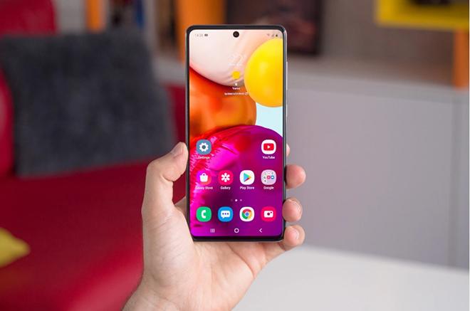 Điện thoại Galaxy A đã có thêm tính năng bảo mật mới - 1